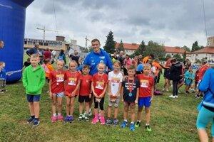 Atléti zo Starej Bystrice s Jánom Volkom.