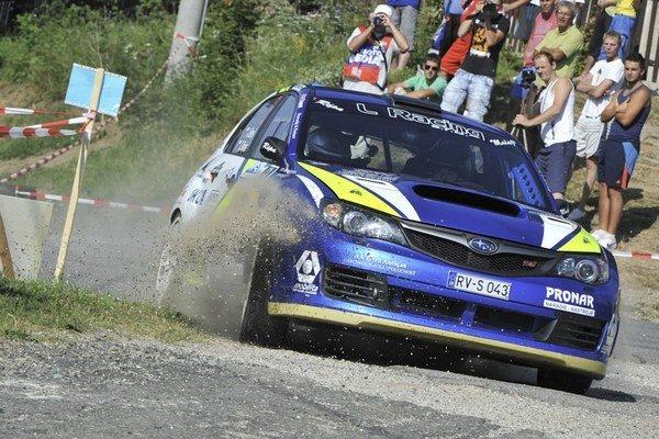 Jozef Béreš junior ukázal svoje majstrovstvo a so Subaru Impreza R4 vytlačil maximum. Druhé miesto v absolútnom hodnotení je viac než úspech.