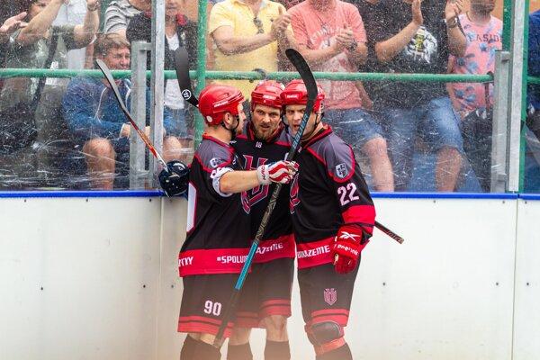 Kapitán Michal Fillo (v strede) doviedol svoj tím až do semifinále
