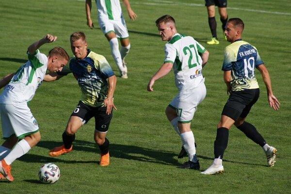 Na Zemplíne na seba narazili favoriti súťaže, Humenné zdolalo Prešov 2:1.