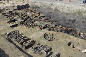 Masový hrob z konca 19. storočia nájdený v Osake.