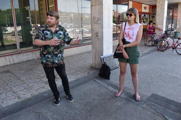Slavomír Capek a Kristína Šebejová z Ta take Town.