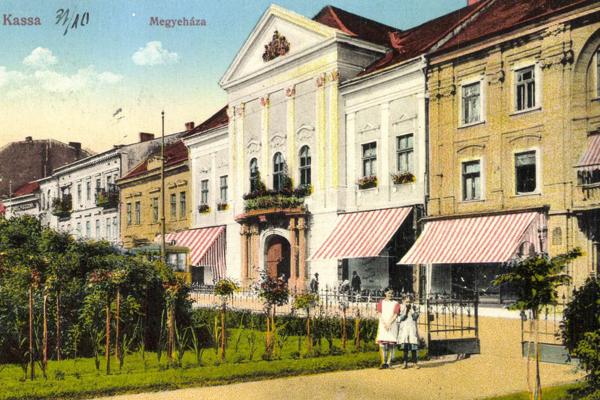 Niekdajší Župný dom v Košiciach.