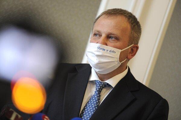 Štátny tajomník ministerstva investícii, regionálneho rozvoja a informatizácie SR Vladimír Ledecký.