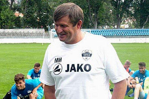 Michal Hipp otvára druhú sezónu na lavičke Nitry.
