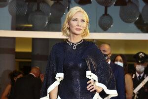 Herečka Herečka Cate Blanchet v róbe z dielne Esteban Cortezar