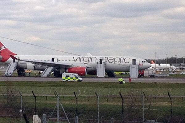 Lietadlo spoločnosti Virgin Atlantic.