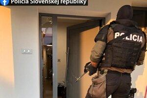 Zábery z poslednej akcie proti mafii v Seredi.