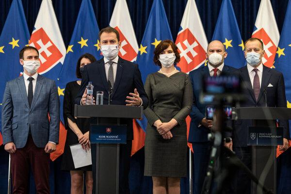 Igor Matovič predstavuje v apríli Fond vzájomnej pomoci.