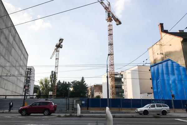 Miesto výstavby projektu Kesselbauer.