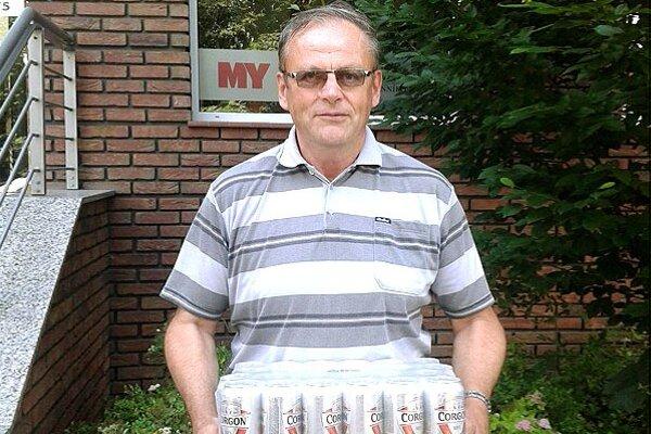 Kartón piva Corgoň si z redakcie odniesol víťaz 14. kola Jaromír Slíž z Beladíc.