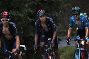 Egan Bernal nezvládol 15. etapu na Tour de France a z boja o žltý dres vypadol.