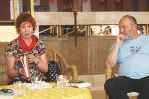 Janka Buršáková a Ivan Gontko v Nitre predstavili aj knihu o Súdnej sieni.