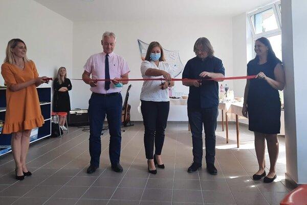 Komunitné centrum slávnostne otvorili začiatkom septembra.