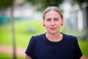 Adriana Mesochoritisová z organizácie Možnosť voľby, politologička a odborníčka na rodovú rovnosť.