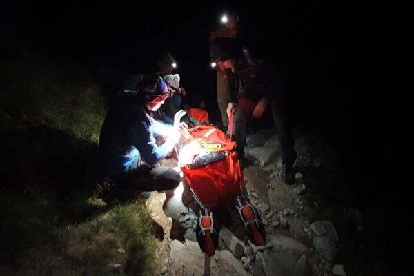 Horskí záchranári pomáhali zranenej poľskej turistke.
