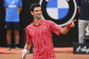 Novak Djokovič vyhral turnaj ATP v Ríme 2020.