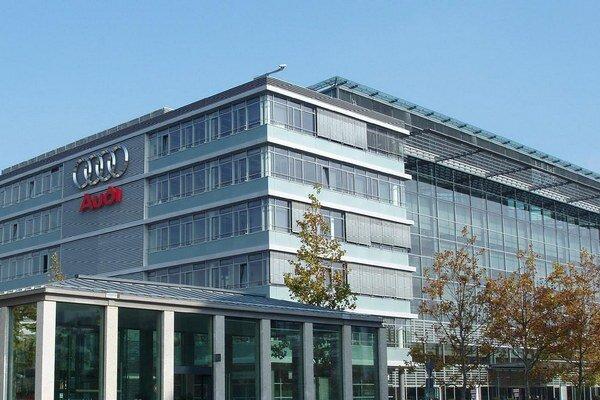 Na fotografii: cetrála Audi v Ingolstadte