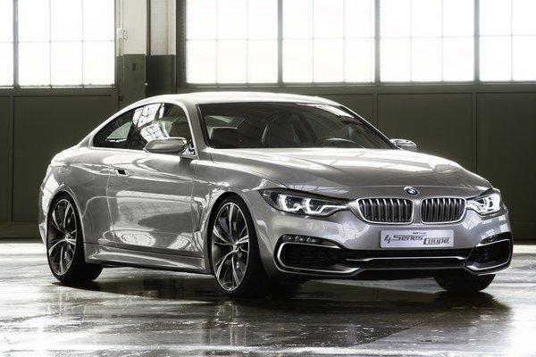V dizajne nového BMW 4 Concept Coupé nájdeme eleganciu, dravosť a tvary klasického kupé.