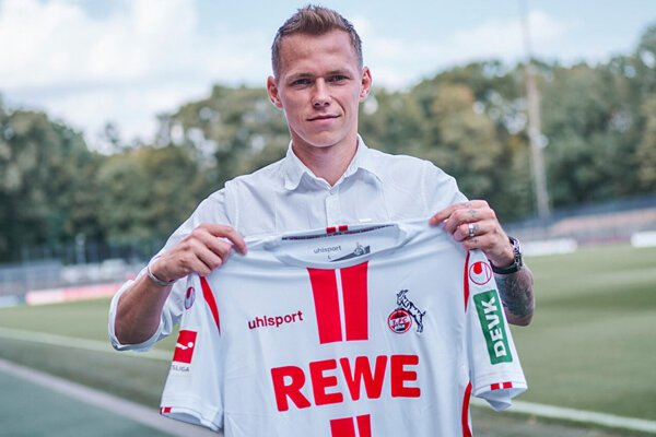Ondrej Duda po prestupe do 1. FC Kolín.