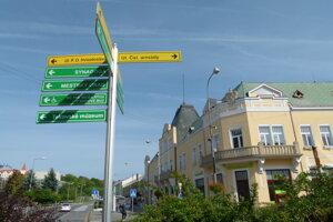 Centrum mesta Levice.