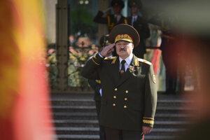 Alexander Lukašenko po prezidentskej inaugurácií.