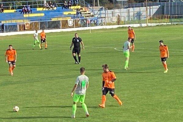 Vpravo strelec úvodného gólu Čane Damián Bandúr.