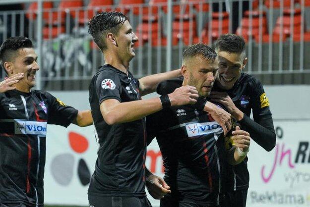 Zlaté Moravce sú po 8. kole Fortuna ligy jeden bod za hranicou prvej šestky.