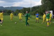 Futbalisti Strečna absolvovali gólovú prestrelku s Varínom. Ilustračné foto.