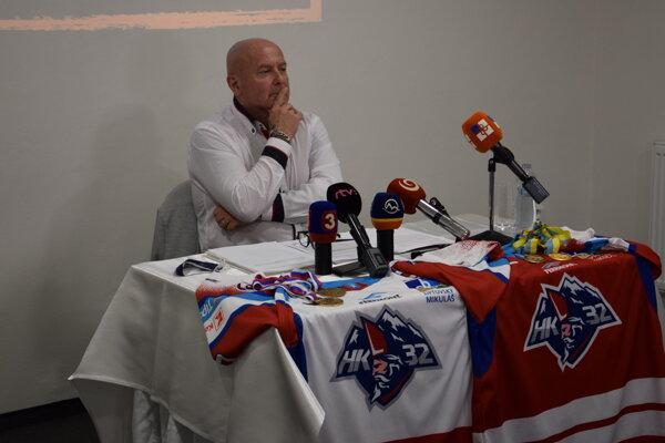 Generálny manažér MHK32, Milan Čanky.