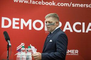 Predseda strany SMER-SD Robert Fico.