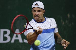 Andrej Martin v 1. kole Roland Garros 2020.