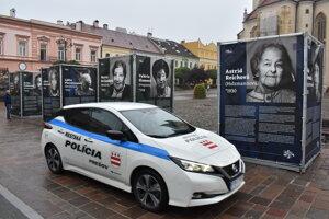 Výstava na Hlavnej ulici v Prešove.