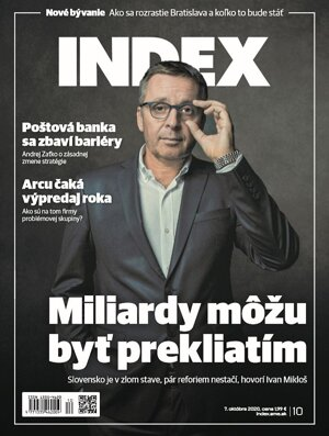 Veľkú realitnú tému Nové bývanie nájdete v októbrovom čísle mesačníka INDEX.