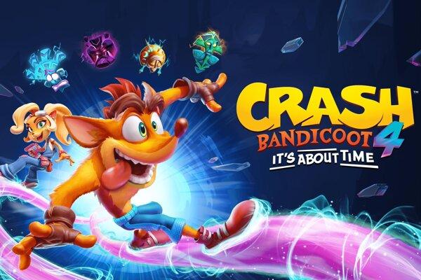 Crash Bandicoot je späť v plnej paráde.