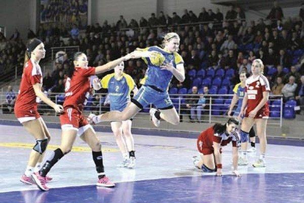 Šalianky odohrali v Michalovciach veľmi dobrý zápas.