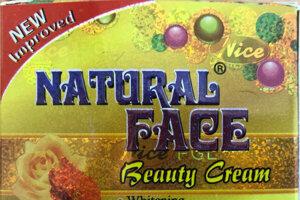 Úrad verejného zdravotníctva SR upozorňuje na nebezpečné kozmetické výrobky. Do rýchleho výstražného systému pre nepotravinárske výrobky RAPEX ich nahlásili kontrolné orgány v Nemecku a Švédsku. Na snímke krém Natural Face Beauty Cream z Pakistanu, ktorý obsahuje ortuť.