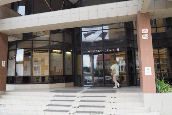 Mestský úrad v Prešove na Jarkovej ulici 24.