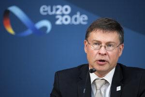 Valdis Dombrovskis, podpredseda Európskej komisie a nový šéf obchodu Európskej únie.