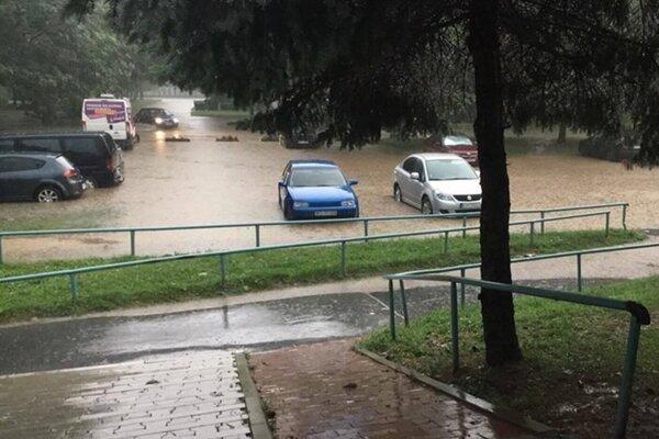 Takto vyzerala Moldava nad Bodvou v minulosti, keď ju zaliala voda.