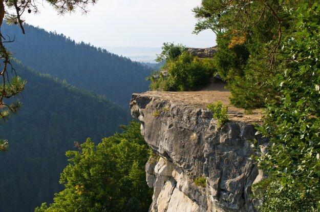 Tomášovský výhľad v Slovenskom raji