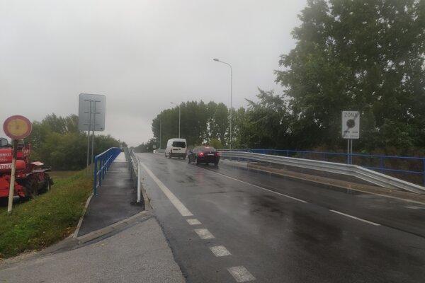 Most pri Štrande v Nových Zámkoch