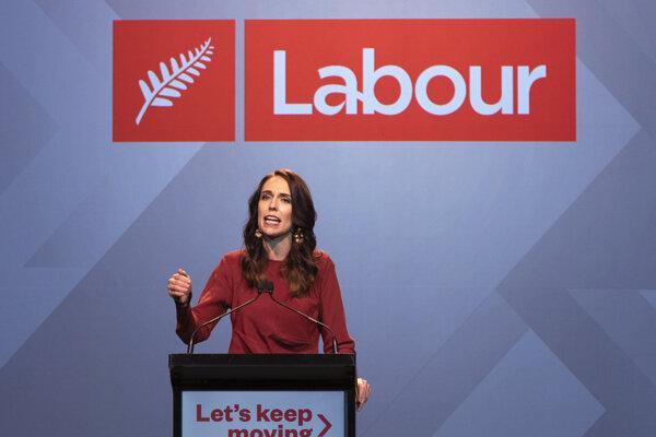 Novozélandská premiérka Jacinda Ardernová.