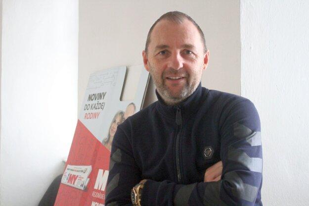 S Marekom Penksom sme sa zhovárali v redakcii MY Banskobystrických novín.