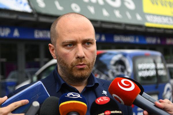 Stanislav Mucha - marketingový a PR manažér HC Košice.