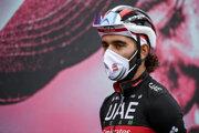 Fernando Gaviria počas Giro d'Italia 2020.