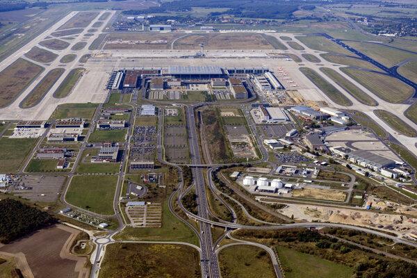 Nové letisko Berlin-Brandenburg.
