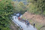 Momentka z Giro d'Italia 2020.