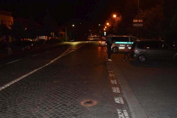 Nehoda sa stala na Župnej ulici v Zlatých Moravciach.