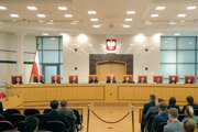 Poľský ústavný súd, archívna fotografia z roku 2016.